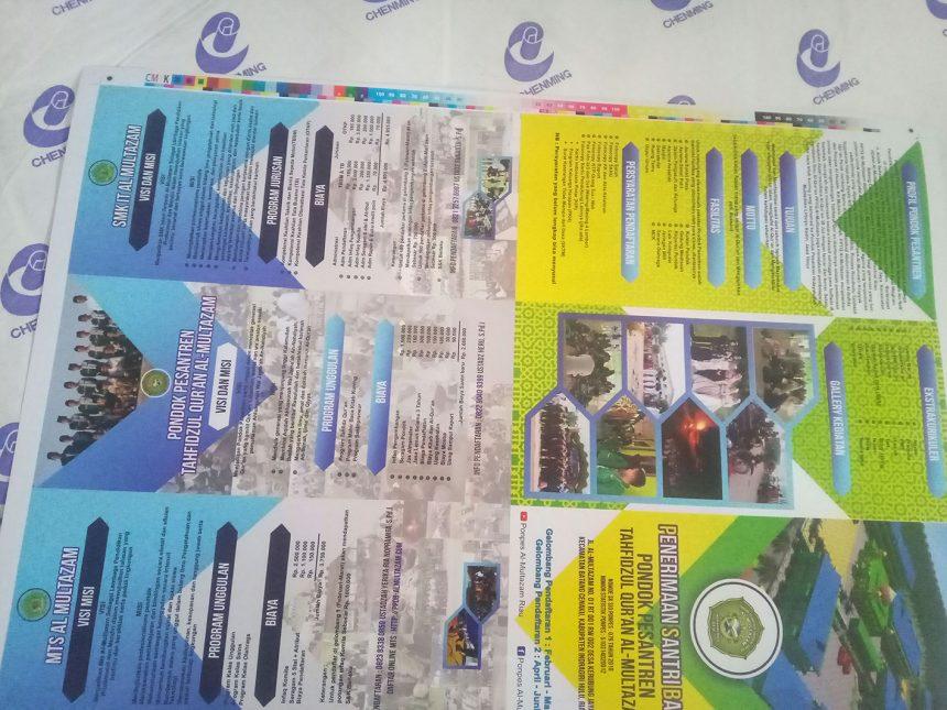 Cetak Brosur Kilat di Pekanbaru, Riau